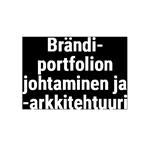 Brändiportfolion johtaminen ja -arkkitehtuuri